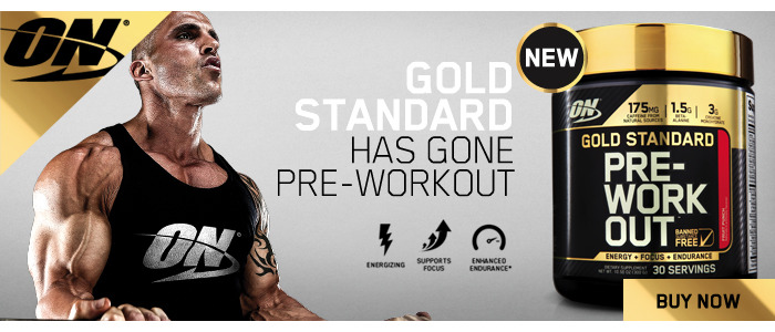 Gold Standard PRE-WORK OUT 300g/30 Serves