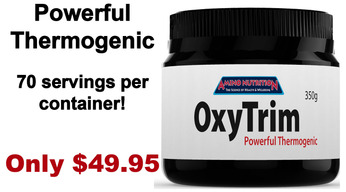 OxyTrim Thermogenic Fat Burner