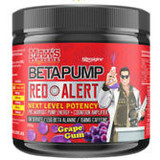 BETAPUMP RED ALERT BY MAX'S LAB SERIES 300G/60 SERVES - GRAPE GUM
