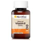 Natural Vitamin E 500iu 200 caps