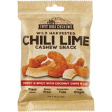 Chili Lime Cashew Snack Wild Harvested 35g