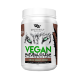 White Wolf Nutrition Natural + Lean Vegan Protein Blend 900g 30 Serves