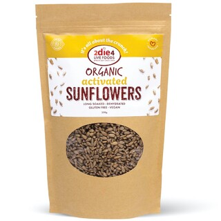 Activated Organic Sunflower Seeds 300gm